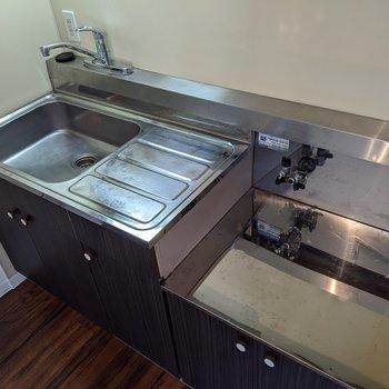 家事のしやすい広さのキッチンです。