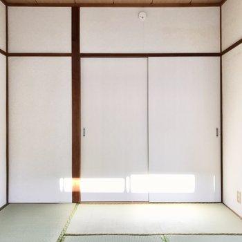 畳も扉も綺麗で清潔感◯