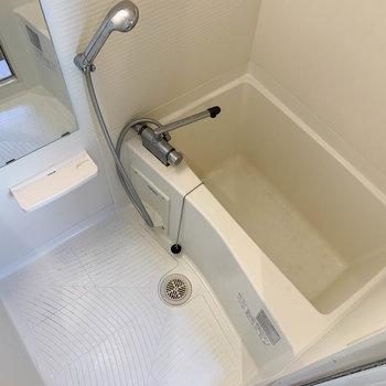 お風呂へ。ちょいとコンパクトです。