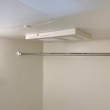 浴室乾燥や暖房ももちろん付いています。