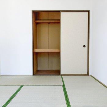 和室は子ども部屋にぴったり!収納は押入れです。