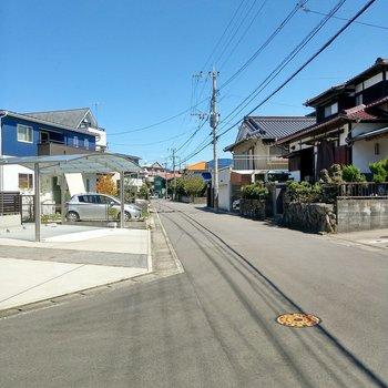 穏やかな住宅街。ファミリーが多い地域。
