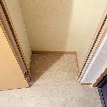 もう1つはアウトドア用品やスーツケースなどの収納に良さそうですね。(※写真は同間取り反転のものです。)