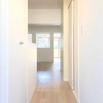 廊下が短い分、居室がゆったりしているんです。