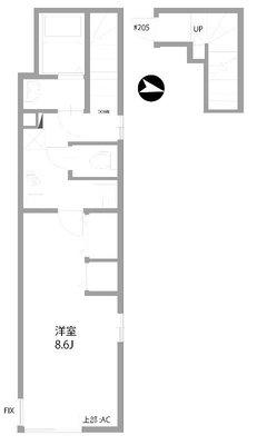 LINK SHINKOIWA(リンク新小岩)の間取り