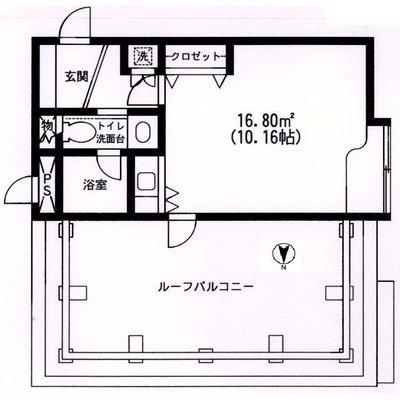 原宿東急アパートメントの間取り