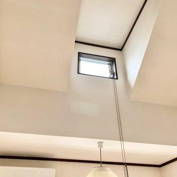 天井がたか〜い!