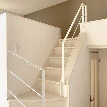 階段を登ってさらにロフトへ。