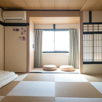 和室1】小さい方の和室です。