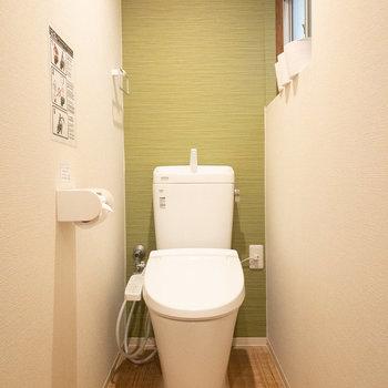 こっちが2階のトイレです!