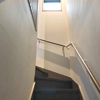 それでは2階にのぼってみます。