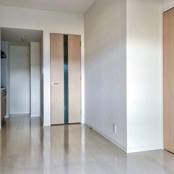 クローゼットを開けてみましょう。※写真は3階の同間取り別部屋のものです