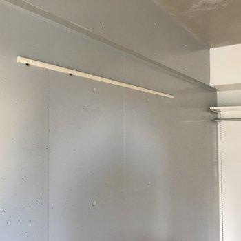 ピクチャーレールがありました。※写真は4階の同間取り別部屋のものです