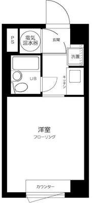東神田サマリヤマンションの間取り