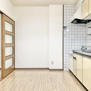 【DK】大型の家電を置けるスペースはありますよ。