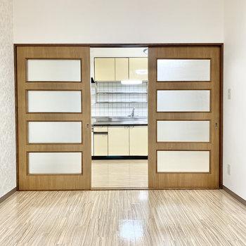 【洋室6帖①】シンプル間取りでレイアウトもしやすい洋室です。
