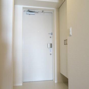 広めの玄関