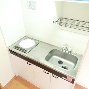 IHコンロでお掃除がしやすいキッチン。※写真は前回募集時のものです