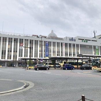 平塚駅直結の大型商業施設で買い物も楽しめますね。