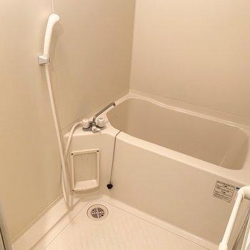 お風呂はシンプルタイプです。(※写真は4階の同間取り別部屋のものです)