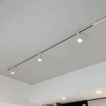 【LDK】スポットライトで光の調節も自由自在。