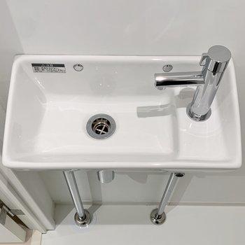 手洗い場も付いています。