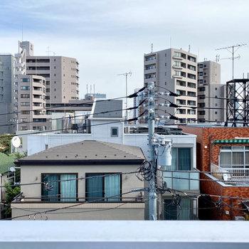 【洋室側バルコニー】眺望