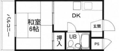 上川ビルの間取り