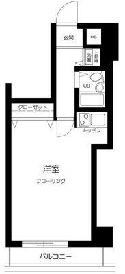 横浜平沼ダイカンプラザ二号館の間取り