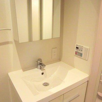 素敵な洗面台。※写真は前回募集時のものです