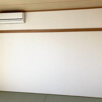 【和室6帖】壁には長押があります。