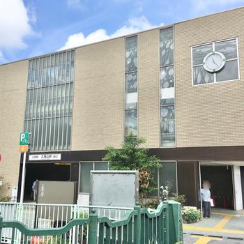 神田川の側に立つ久我山駅に到着。