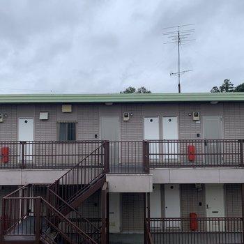 眺望は、同じ建物のもう1つの棟。