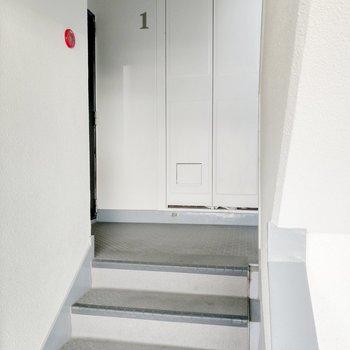 1フロアに2部屋。スペースしっかりです