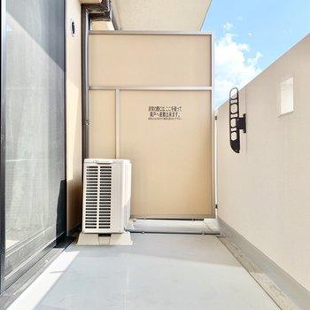 洗濯物もよく乾きそうです◎ ※4階の類似間取り別室の写真です。