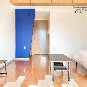 かわいいポイントもあるし、右に視線を向けると... ※4階の類似間取り別室の写真です。