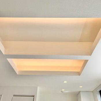 【DK】窪んだ天井にダウンライト……素敵!