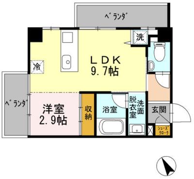 HOUSE TAGAWAの間取り