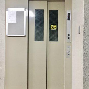 【共有部】エレベーターで4階まで。