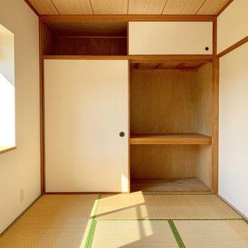 【現状写真】和室部分1階ですが日当たりは抜群です。