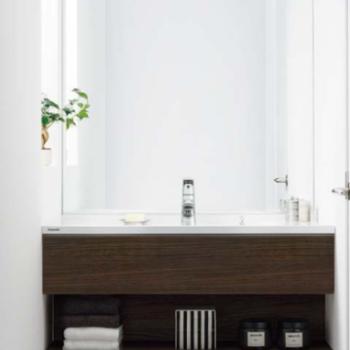 【カスタマイズ③】デザイン洗面台への変更(家賃+1,000円)