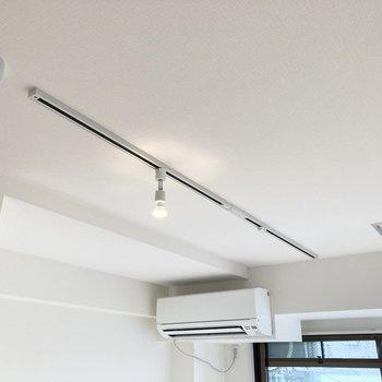 天井にはライティングレールが走っています。※写真は前回募集時のもの