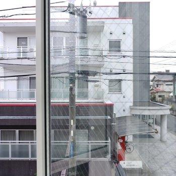 眺望は、周辺の建物たち。