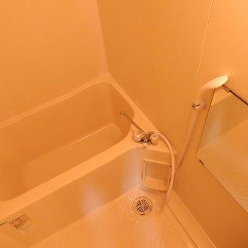 お風呂はシンプルで掃除しやすそう!(※写真は2階の同間取り別部屋のものです)
