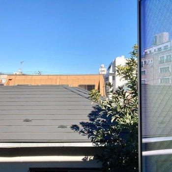 【3階】眺望も空が見えますよ。