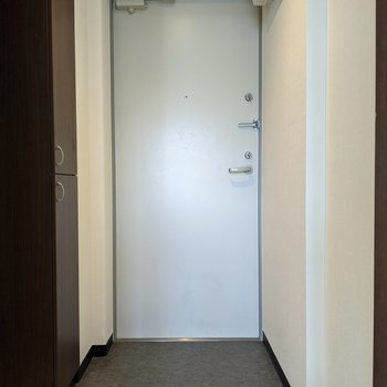 ゆったりとした広さの玄関です。