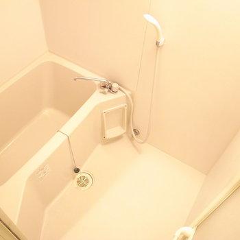 コンパクトですが、浴室乾燥機とミストサウナ付きなのです。びっくり!