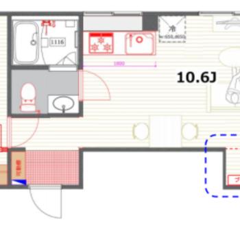 寝室と居室の切り替えがしやすい良い間取り!