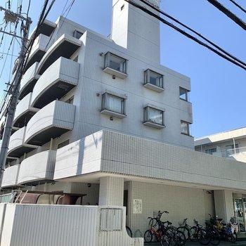 周辺にはマンションがいくつかありました。
