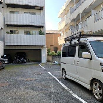 駐車場もあってお出かけの範囲が広がりますね。(空き要確認)